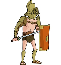 Roman gladiator vector