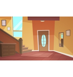 Cartoon interior vector