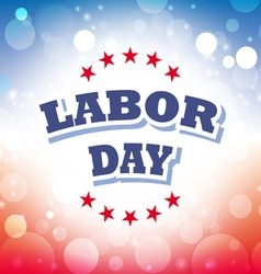Labor day america banner 1 vector