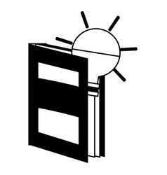Book icon image vector