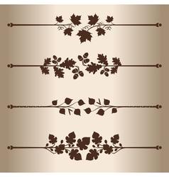 Decorative lines vector
