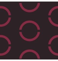 Seamless geometric crimson background vector
