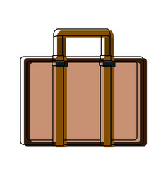 Case business accessory bag handle icon vector