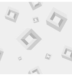 Geometric seamless simple monochrome pattern of vector