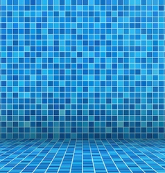 swimming pool ceramic vector image vector image
