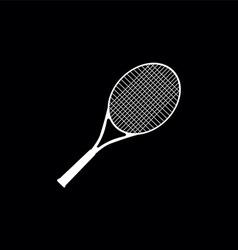 Tennis symbol vector image