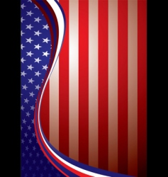 usa American background template vector image vector image