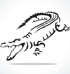 Crocodile 2 vector