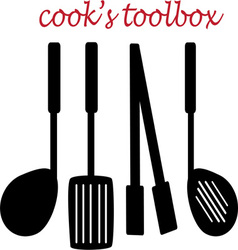 Cooks toolbox vector