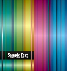 rainbow space background vector image