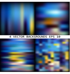 impressionism backdrops vector image vector image