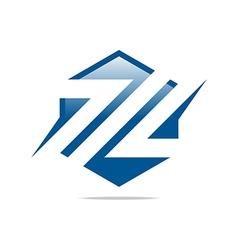 Logo company name design perfect motif cool vector