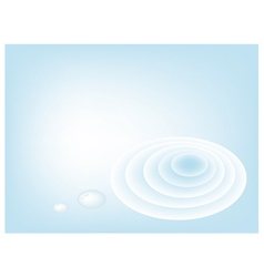 A blue abstract background of water wave vector