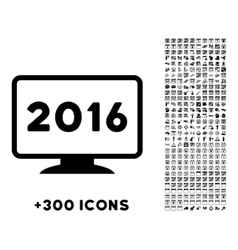 2016 display icon vector