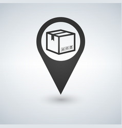 Delivery services relocation cargo shipment or vector