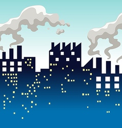 Factory producing lots of smoke vector