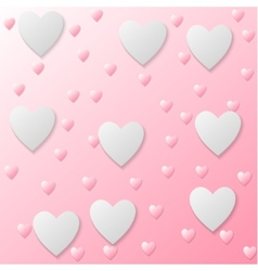 heart texture vector image vector image