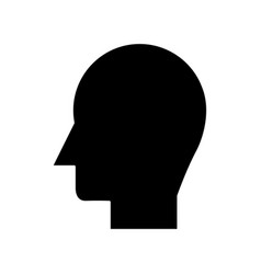 man head icon sign o vector image