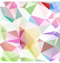 multicolored background polygon vector image