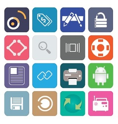 Web Icons 34 vector image