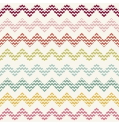 Zigzag chevron pattern vector