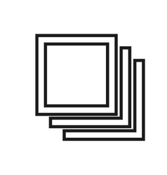 Digital tab icon vector