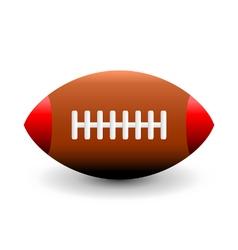 American football ball icon vector