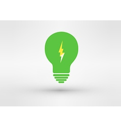 An attractive Green Energy logo symbol vector image vector image