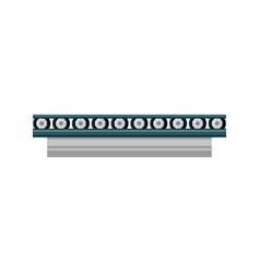 Band conveyor equipment vector