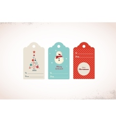 collection of cute ready to use christmas gift vector image