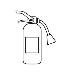 Fire extinguisher equipment vector image