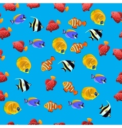 Moorish Idol fish vector image vector image