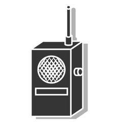Radio transmitter device icon vector image