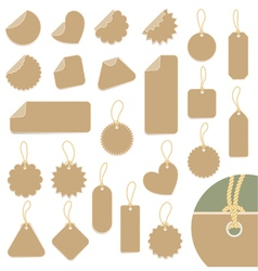 Set of labels vector