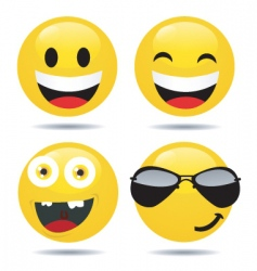 Smiley set3 vector