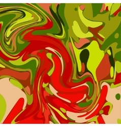 Watercolor green red background vector
