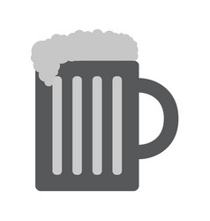 Beer icon in trendy flat style vector