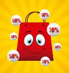 Crazy sale vector