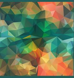 Seamless triangle shape mosaic pattern stock image vector