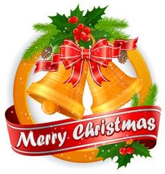 christmas lable 10 SS 5 v vector image