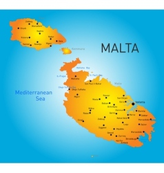 Malta country vector