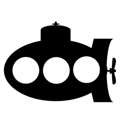 Submarine icon vector
