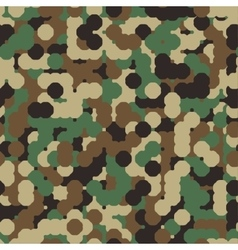 Abstract seamless military camouflage vector