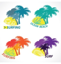 beach season vector image