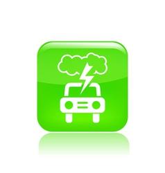 road storm icon vector image