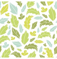 Leaves silhouettes seamless pattern background vector