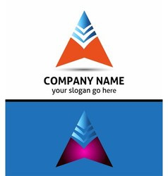 Success business arrow boost up logo icon vector