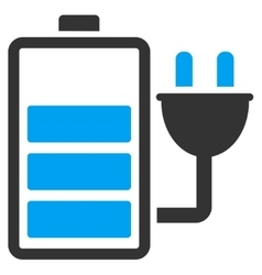 Charge battery icon vector