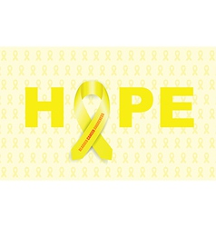 Bladder cancer ribbon vector