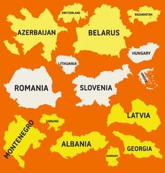 Europe 3 vector
